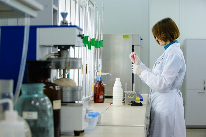 Организация лаборатории на молочном производстве